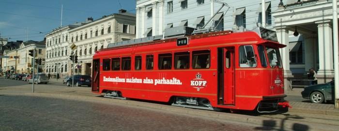 Трамвай Паб Хельсинки Трамвай, Паб, Хельсинки