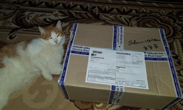 Подарок из Екатеринбурга! Обмен подарками, Подарок, Новый Год, Поздравление, Длиннопост