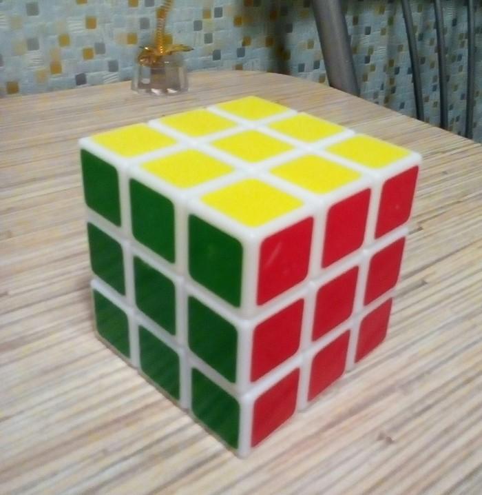Это было трудно... Головоломка, Кубик рубика