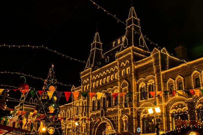 Новогоднее настроение Начинающий фотограф, Гум, Красная площадь, Длиннопост