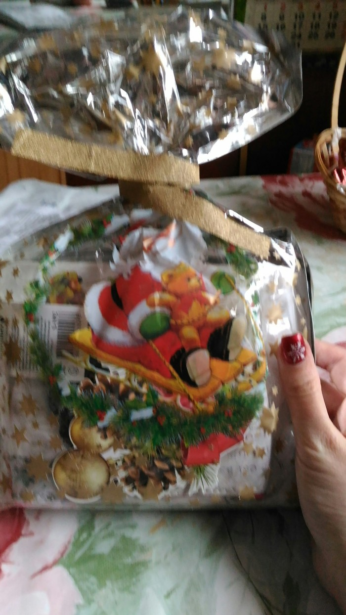 Подарок из Гатчины в Москву Тайный Санта, Обмен подарками, Тег, Длиннопост