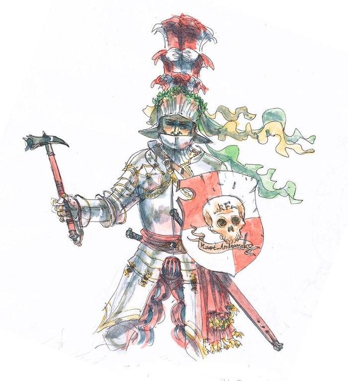 Рыцарские Ордена Империи Warhammer fantasy battles, Empire, FB Art, Длиннопост