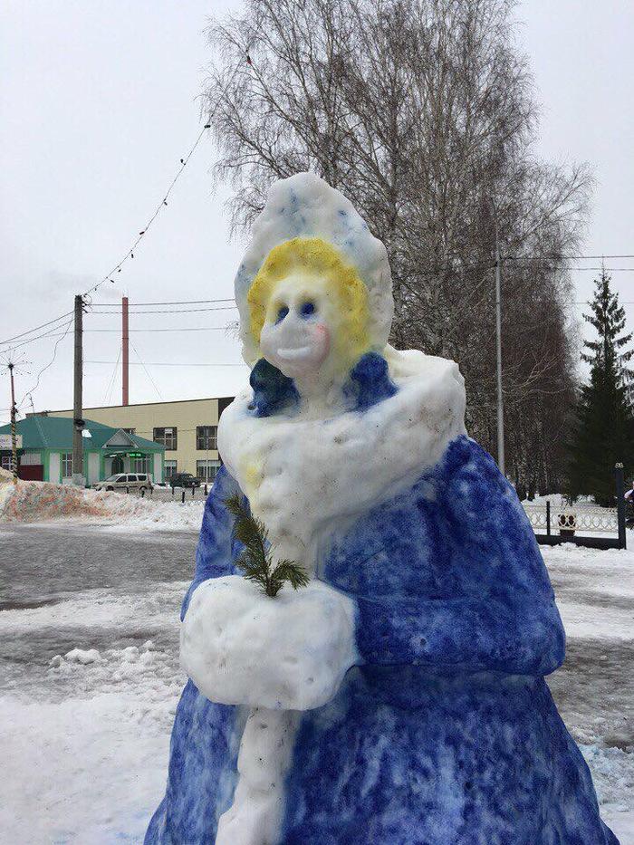 Новогодняя крипота Новый Год, Снегурочка, Длиннопост