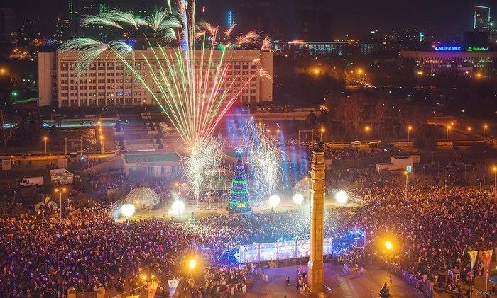 С Новым Годом Пикабушники Казахстана! Новое, Год, Казахстан