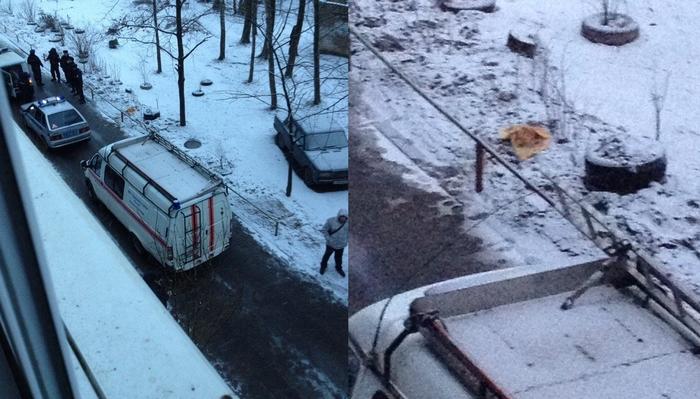 В Великом Новгороде в Новый год мужчина отрубил голову соседу Жесть, Новый Год, Соседи, Великий Новгород