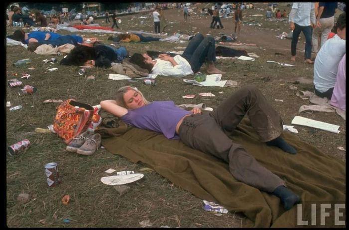 Секс на фестивале вудсток