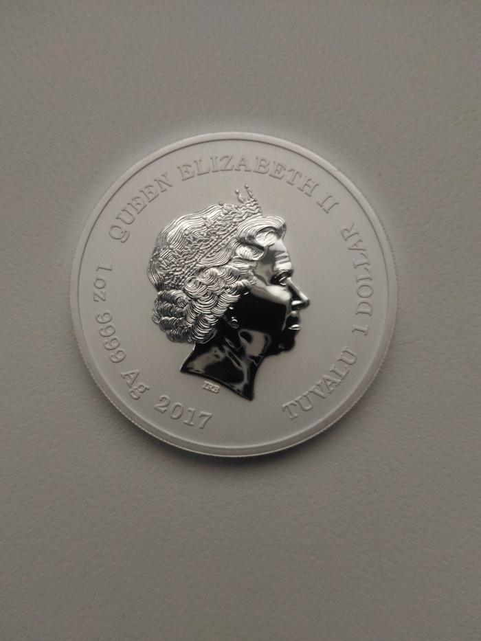 Еще монетка красивая Нумизматика, Монета, Человек-Паук, Длиннопост