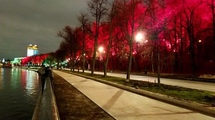 Небо цвета света Фотография, Украшение, Цвет, Свет, Небо, Москва, Длиннопост