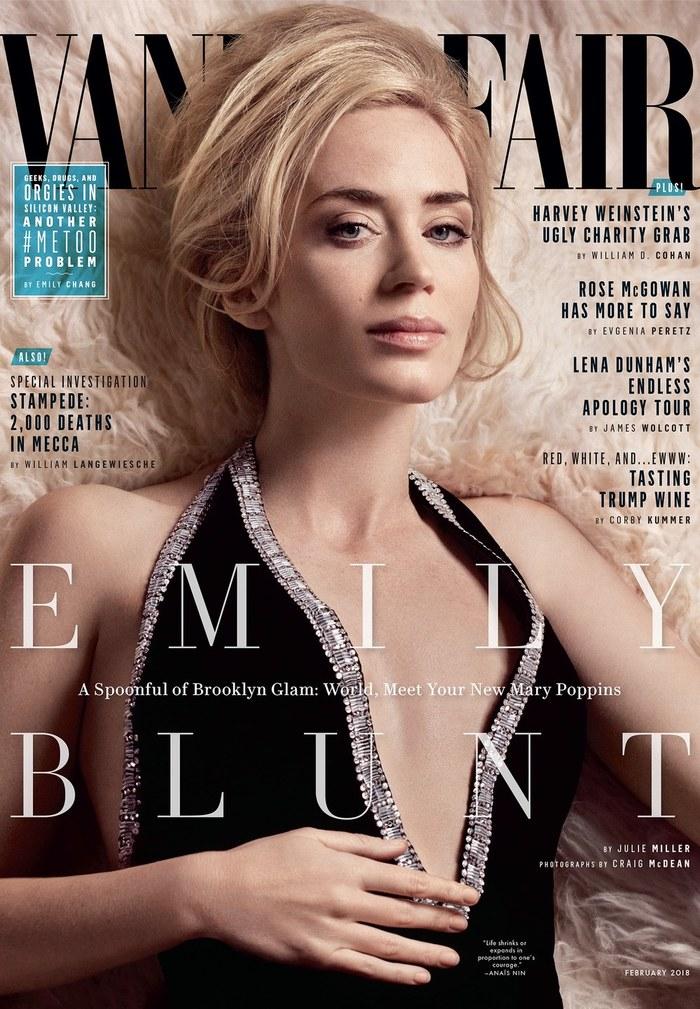 Фотосессия Эмили Блант в журнале Vanity Fair Эмили Блант, Фильмы, Длиннопост