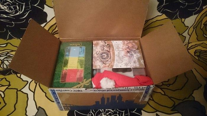 Новогодний подарок из Питера в Питер! Спасибо Косте и Лене! Тайный Санта, Анонимный дедмороз, Подарок, Новый Год, Длиннопост