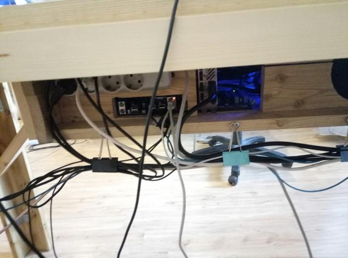 Мой самодельный стол длиннопост, самоделки, стол, Корпус ПК