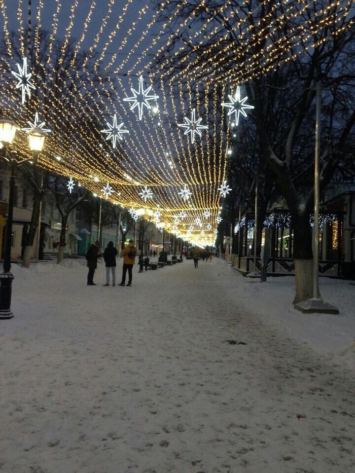 Хорошая зима Зима, Рязань, Снег, Длиннопост