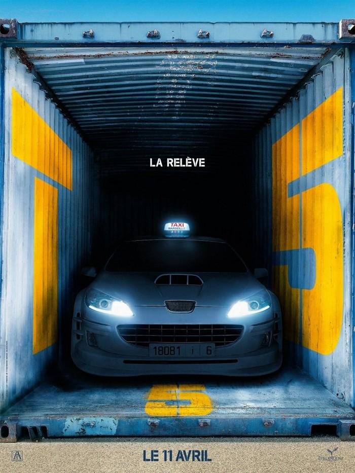 """Премьерный постер пятой части """"Такси"""""""