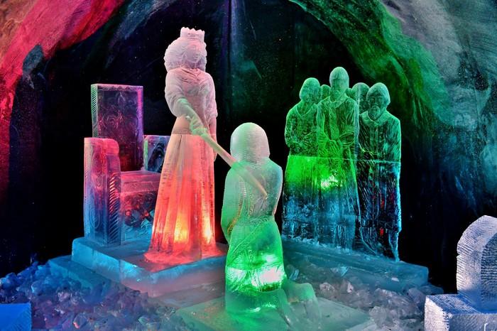 Ледяная сказка. Заполярье, Ледяная скульптура, Зимняя сказка, Фотография, Скульптура, Лед, Длиннопост