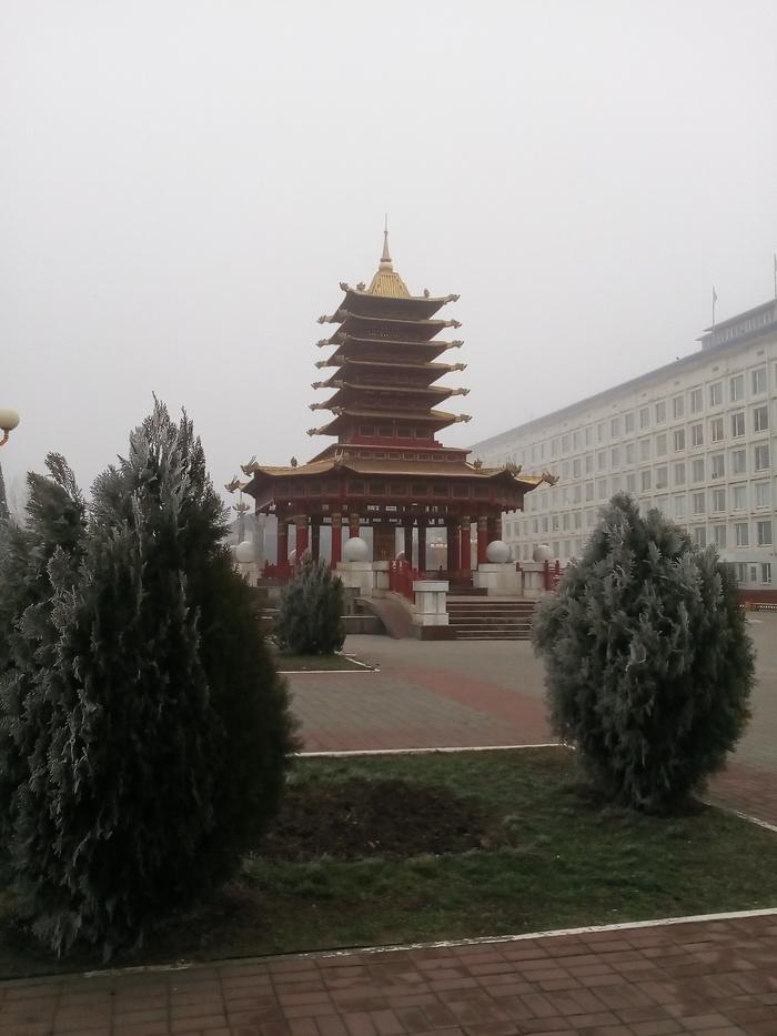 Пагода 7 дней Праздники, Дом, Элиста