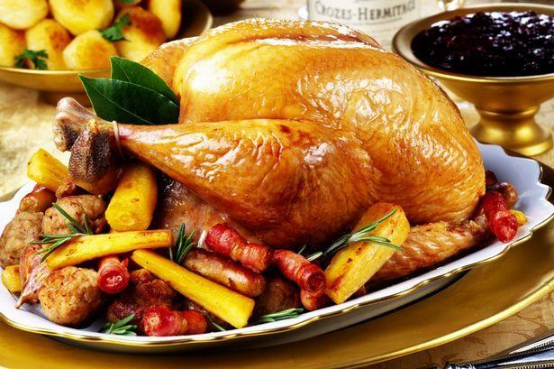Tрадиционная английская рождественская индейка Еда, Рецепт, Англия, Видео, Длиннопост