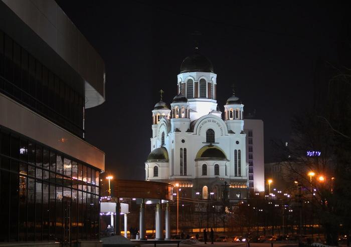 Вечерний Екатеринбург Фотография, Екатеринбург, 2018, Длиннопост