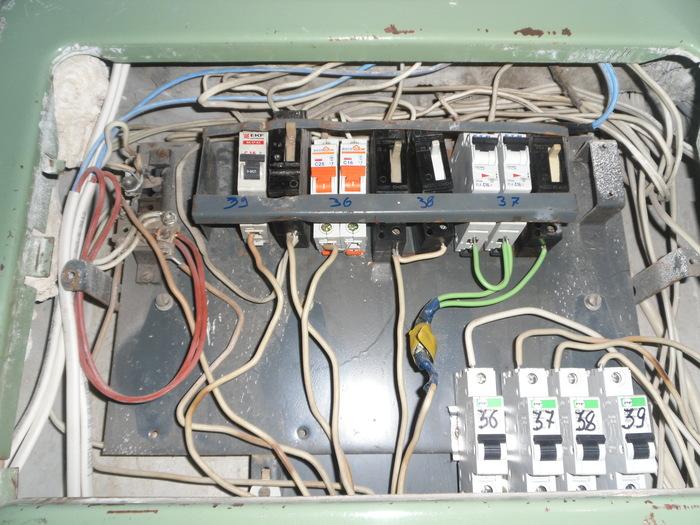 Наводим порядок в щитке Частично моё, Электричество, Моё, Ремонт, Было-Стало, Электрик, Длиннопост, Шоу интуиция