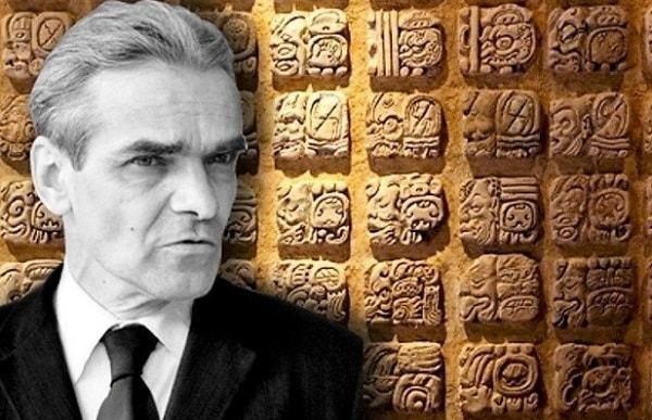 Человек, расшифровавший письменность майя Расшифровка, Майя