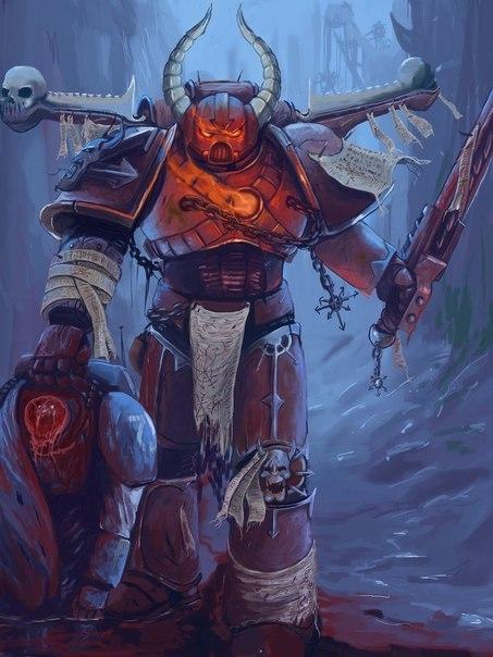 Мы - Хаос Warhammer 40k, Wh art, Арт, Фан-Арт, Длиннопост