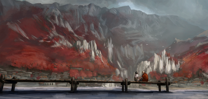Ущелье Кирдылы Ущелье, Рисунок