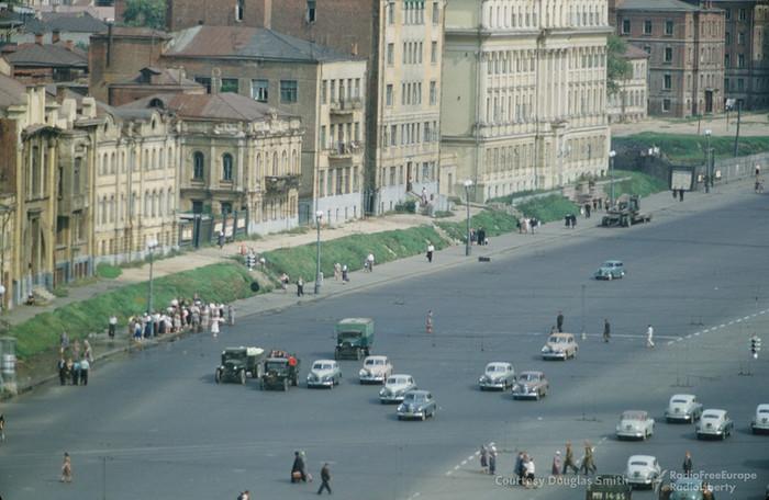 Москва. Садовое кольцо 1952 год Москва, Садовое кольцо, Проспект