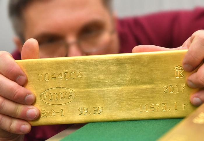 Фото корреспондента, которого пустили посмотреть на золотой запас России Россия, Золото, КП, Банк России, длиннопост