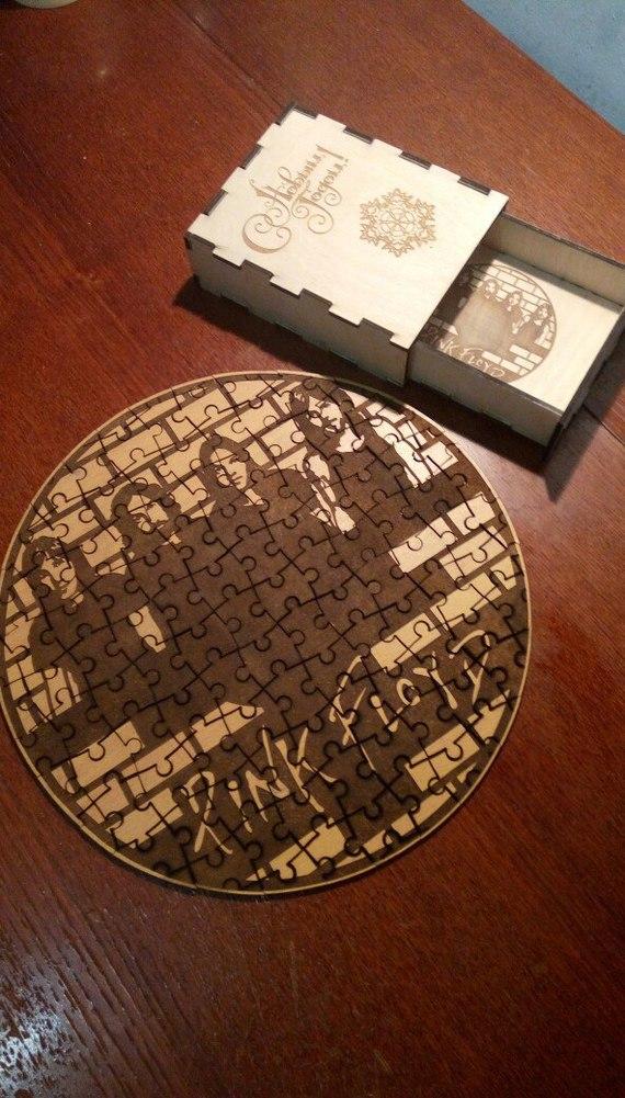 Мозаика для папы. Мозаика, Пазл, Лазерная резка, Подарок, Новый год, Фанера, Оргалит, Рукоделие без процесса