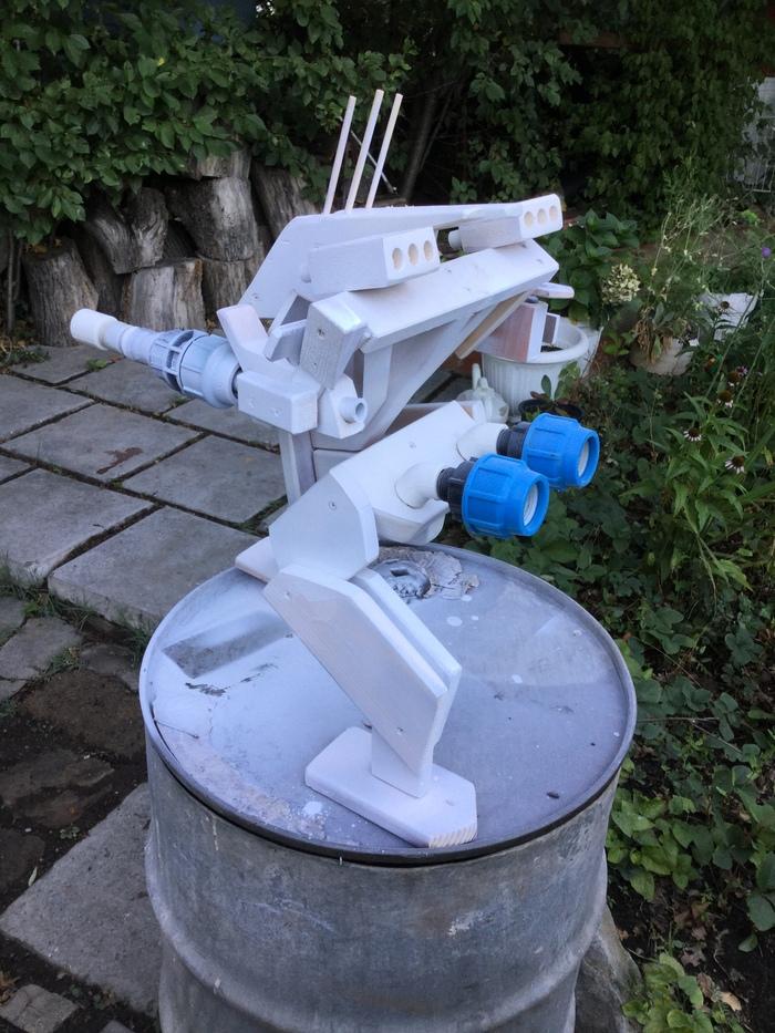 Робот Деревянко Робот, Своими руками, От нечего делать, Все для детей, Работа с деревом, Терминатор, Длиннопост