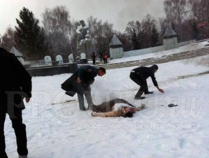 В Башкортостане мужчина совершил акт самосожжения возле здания городской администрации Башкортостан, Самосожжение, Новости, Теги явно не мое