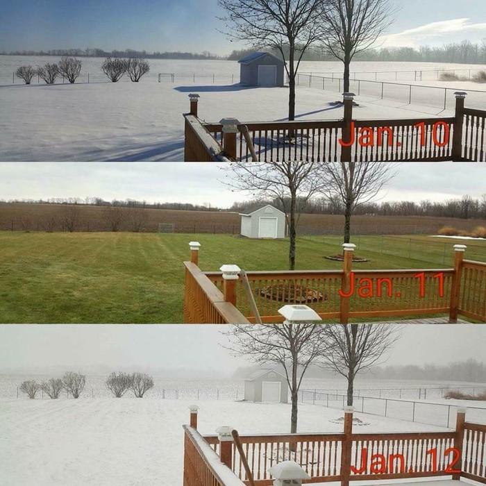 Погода в Мичигане Погода, Перепады температуры, Снег, Мичиган