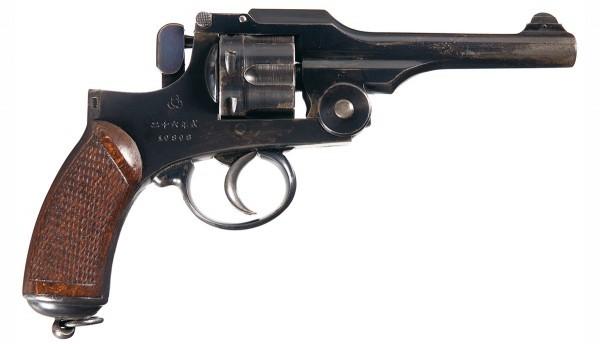 Японский револьвер Тип 26: дополнение к Духу самурая Пистолеты, Японское оружие, История, Длиннопост