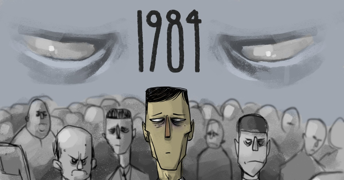 a comparison of the stunning novel 1984 and the movie the matrix both by george orwell George orwell's classic book 1984, about a dystopian future where critical thought is suppressed under a totalitarian regime, has seen a surge in sales this month, rising to the top of the amazon best-seller list in the united states and leading its publisher to have tens of thousands of new copies printed.