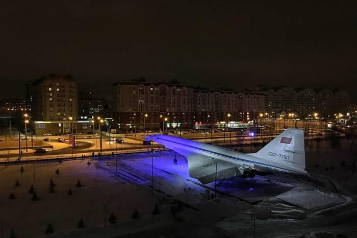 Ту-144 в Казани Ту-144, Картинки, Фотография, Длиннопост, Казань