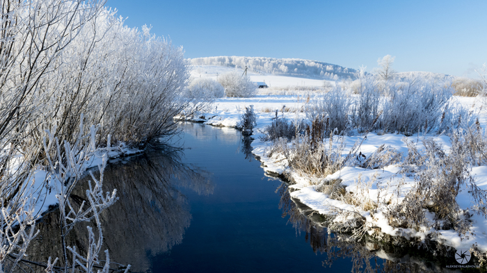 Последний день 2017-го года. Арти, Артинский район, Большие карзи, Пейзаж, Зимнее фото, Зима, Снег, Фотография