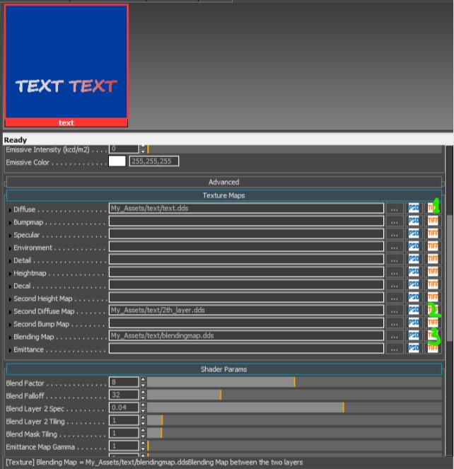 Помогите с настройками текстуры CryEngine, Cryengine3, Textures, Помощь, Разработка игр, Gamedev