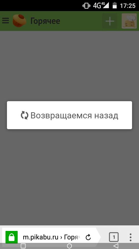 Необходимость опциональности возврата к последнему прочитанному в мобильной версии Пикабу, Возврат, Фича, Настройки