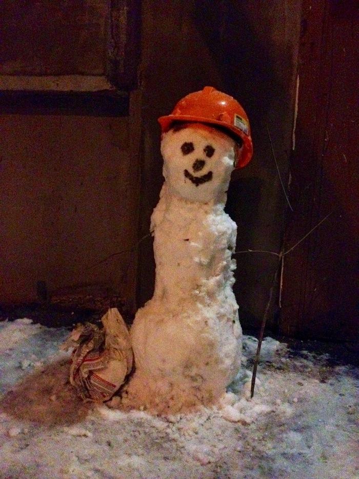Стройвичок Снеговик, Прикольные снеговики