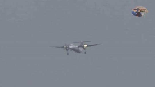 Самолет, который смог или играй гармонь (баян) Самолет, Шторм, Посадка самолета, Видео, Гифка, Баян