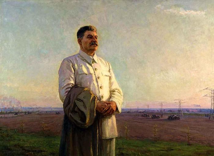 """""""Ты думаешь, что я Сталин? Нет!"""" Короткопост, Сталин, Не политика, Байка, А может и нет, ВКонтакте, Картина, Шурпин"""