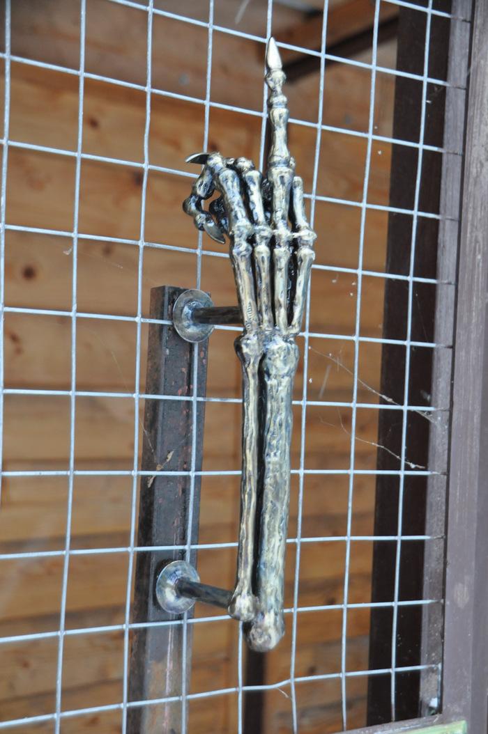 Ручка дверная. дверная ручка, Электросварка, поделки, длиннопост