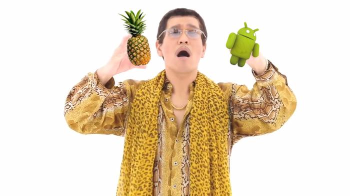 Новости из мира Android Android, Fuchsia OS, Ананас, Android OS, Новости, Wine, Google, Длиннопост