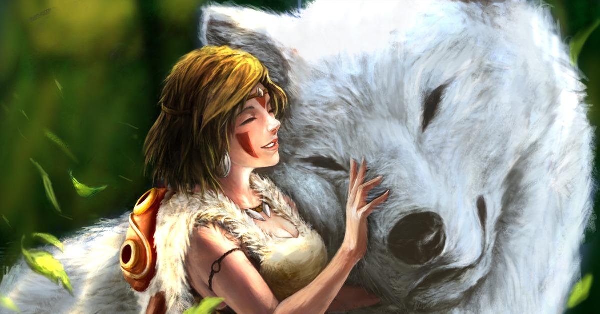 Картинка принцесса мононоке