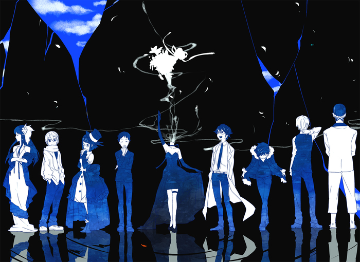 Durarara Art Durarara!!, Anime Art, Аниме