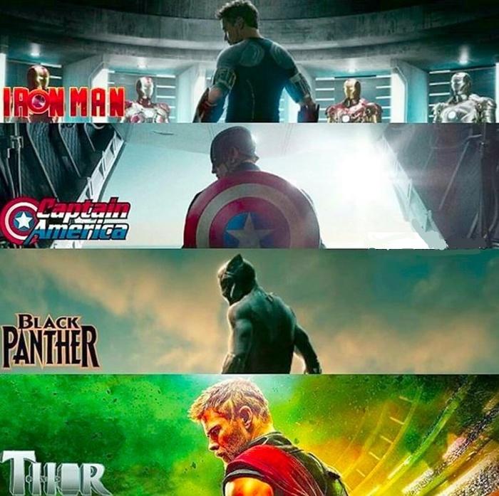 Любима поза супергероев, у которых есть сольный фильм