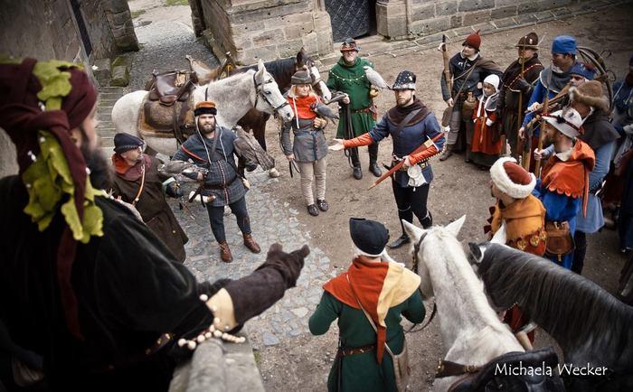 Соколиная охота, 14 век. Охота, 14 век, Средневековье, Костюм, Длиннопост, Чехи
