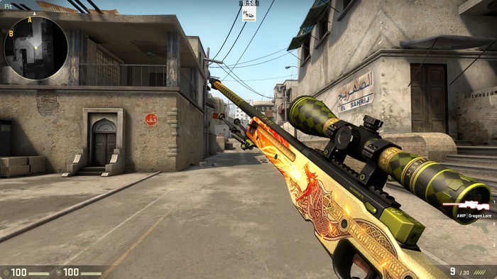 Фанат CS: GO купил скин винтовки за $61 тысячу Cs:GO, Dragon Lore, Игровые покупки, Геймеры