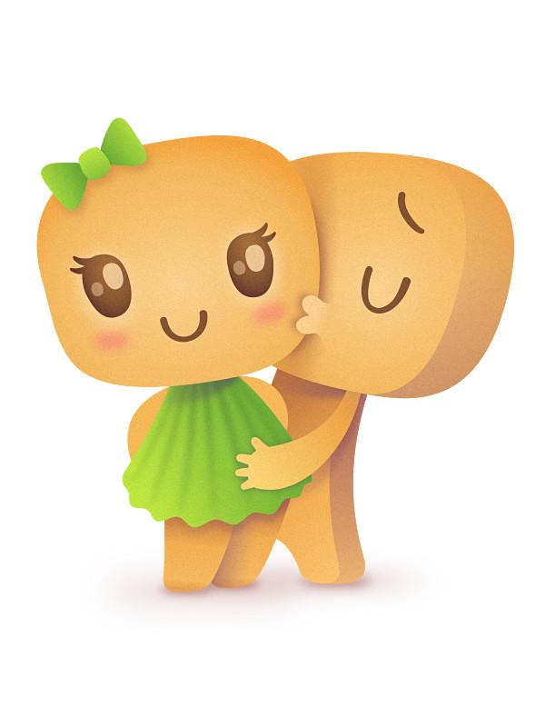 Целуйте своих печенек Печенька, Рисунок, Поцелуй, День влюбленных