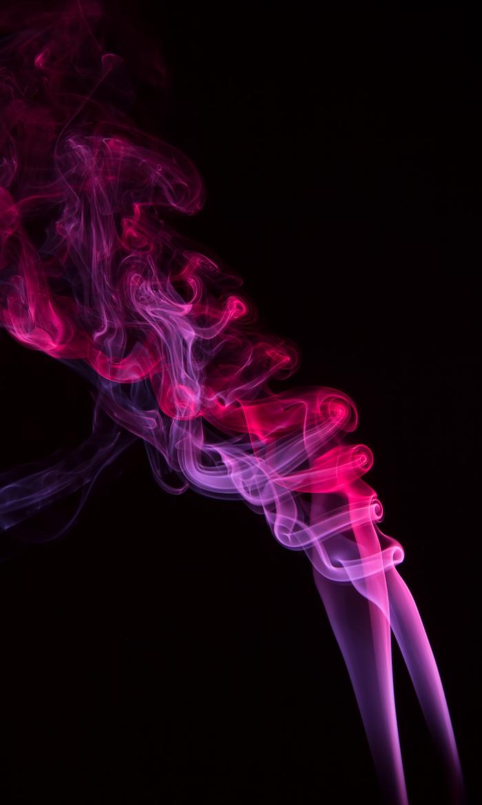 Дым, чёрный фон и немного цветных фильтров Дым, Фотография, Хобби, Canon 60D, Длиннопост