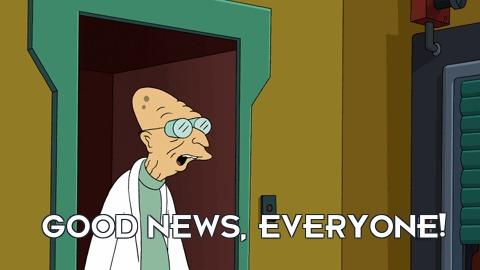 Good news everyone! Антропогенез, Премия, Станислав Дробышевский, Ученые против мифов, Хорошие новости, Длиннопост, Гифка